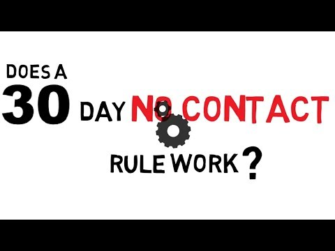 Don't Fall For The 30-day No Contact Rule Scam - Magnet of