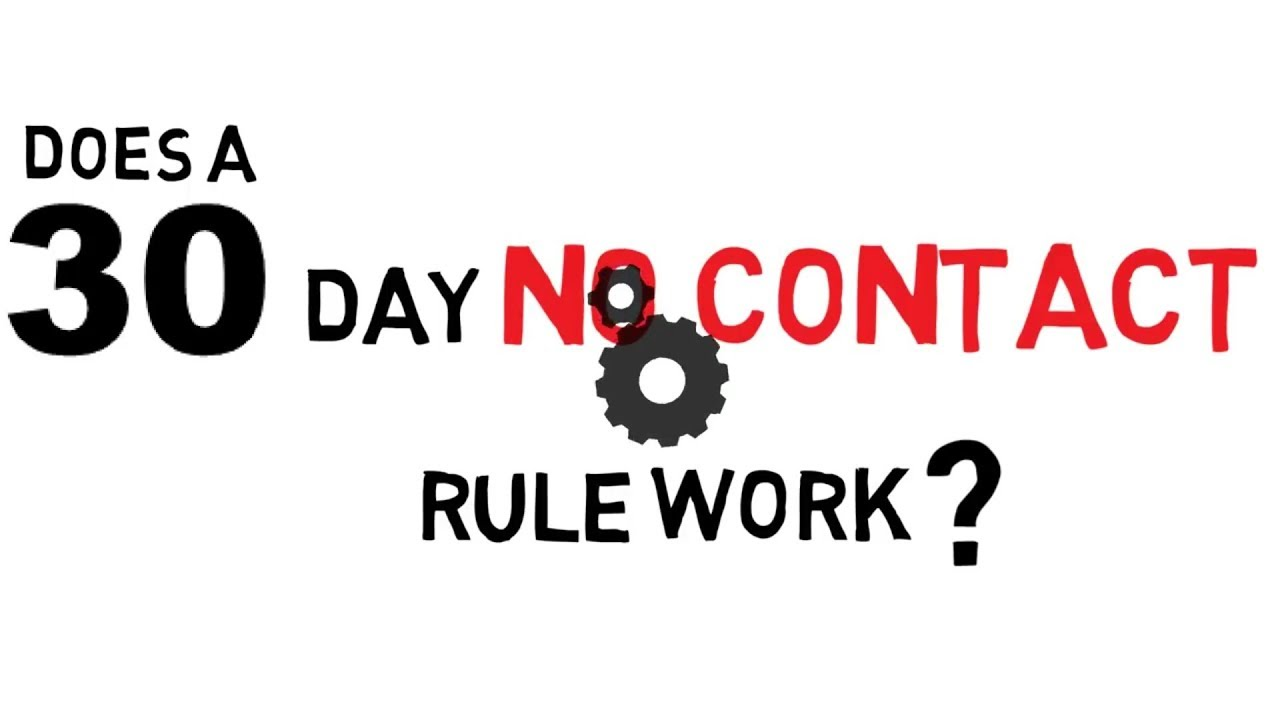 Does A 30 Day No Contact Rule Work?