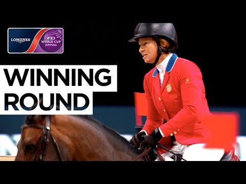 Elizabeth Madden goes into the lead in Paris! | Jumping Final | Longines FEI World Cup™ Jumping