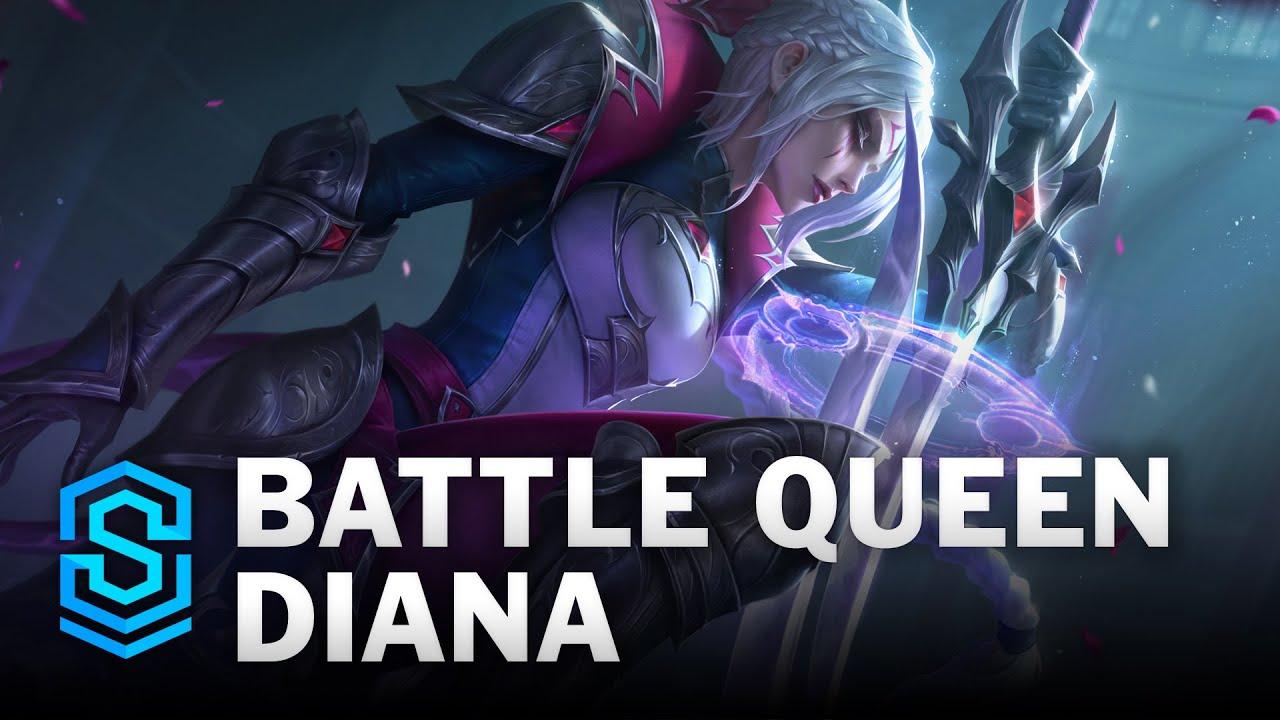 Battle Queen Diana Skin Spotlight - League of Legends