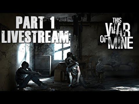 THIS WAR OF MINE! - Part 1 - [Livestream - dansk gameplay]