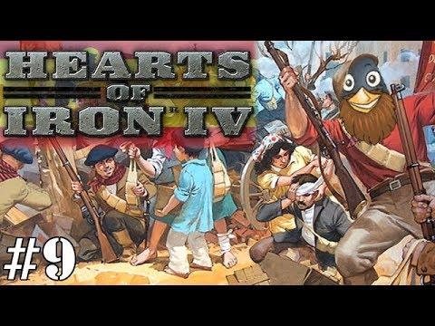 Hearts Of Iron IV - Nationalist Spain #9 : Smash 'Em Mates!