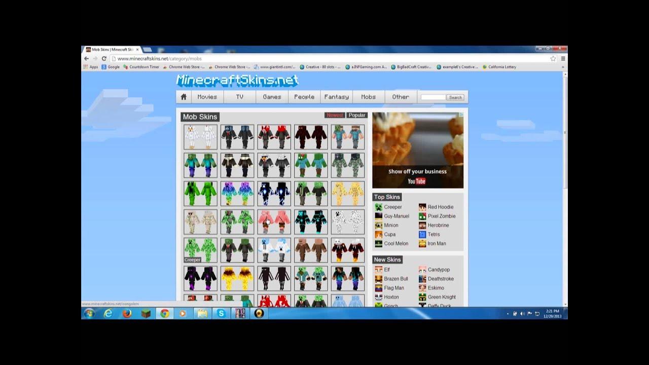 Net | Minecraft Skins