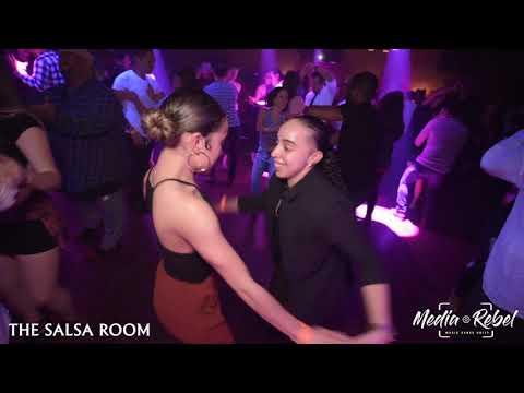 ACE & CIARA Bachata Social Dance At THE SALSA ROOM