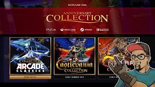 Castlevania & Contra Konami Anniversary Collection Coming Soon To Nintendo Switch!