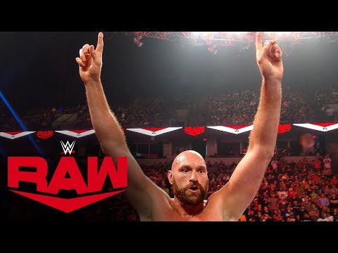 Braun Strowman And Tyson Fury Brawl Continues After Raw: Exclusive, Oct. 7, 2019