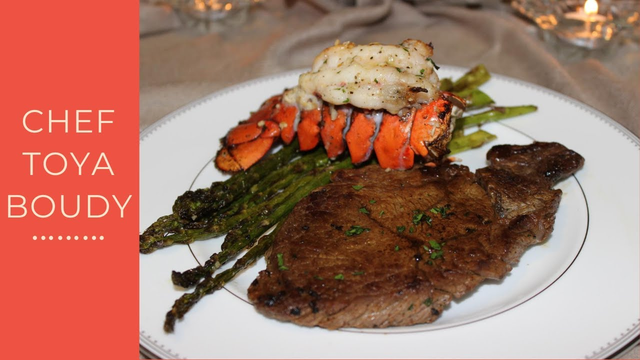 How To Cook A Classic Steak And Lobster Dinner