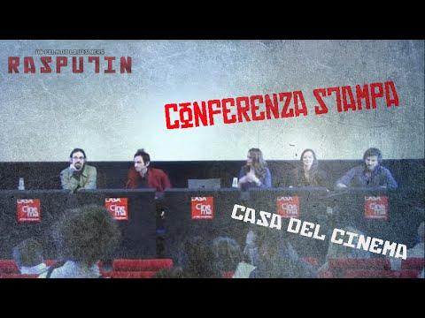 Conferenza Stampa del film RASPUTIN, regia di Louis Nero /// Casa Del Cinema di Roma