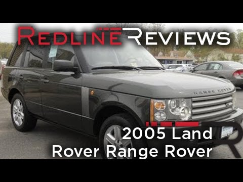 2005 Land Rover Range Rover Review, Walkaround, Start Up, Test Drive