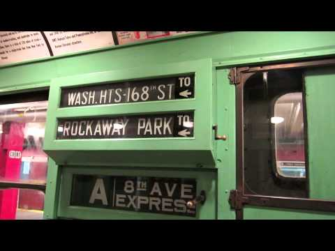 NYC Subway: R4 484 Interior Tour (NYTM)