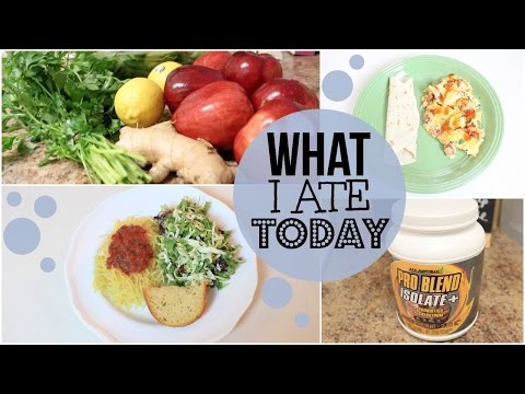 WHAT I ATE TODAY   LACTO-OVO VEGETARIAN