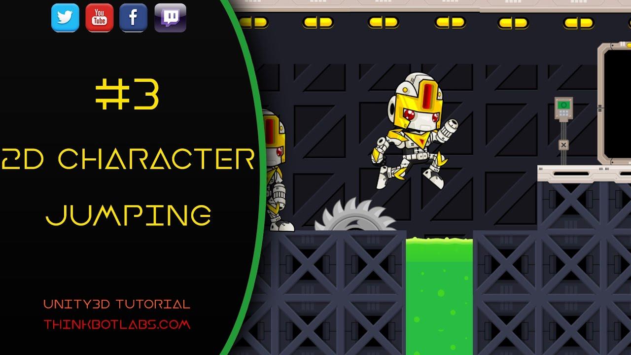 Unity 2D Character Controller: Jump