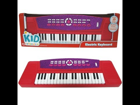play and learn with toy piano / children kids(español latino)