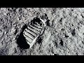 How the first footprint on the moon came to be