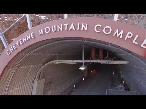 Inside Peak of World's Most Formidable Mountain Bunker Cheyenne Mountain 2017