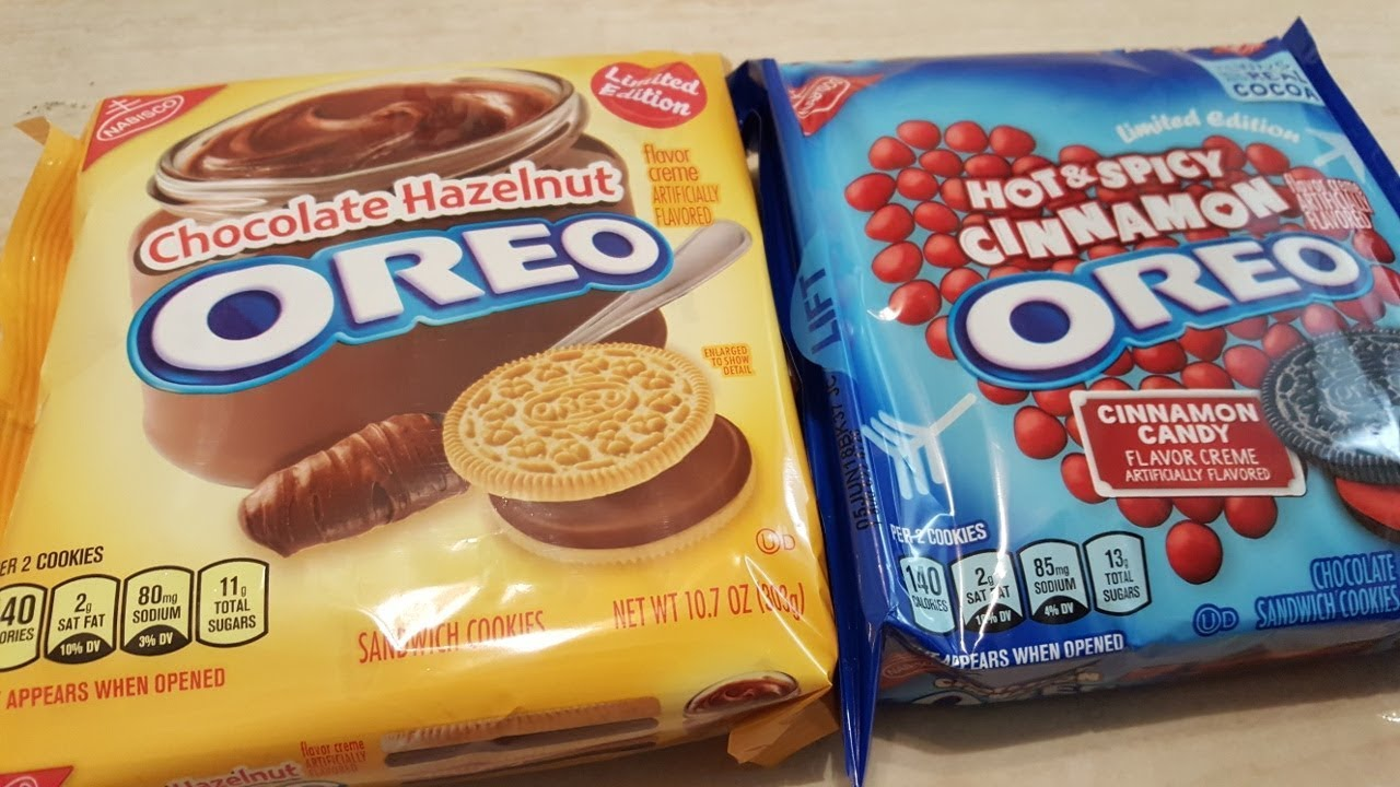 We Shorts Oreo Chocolate Hazelnut And Oreo Hot Spicy Review