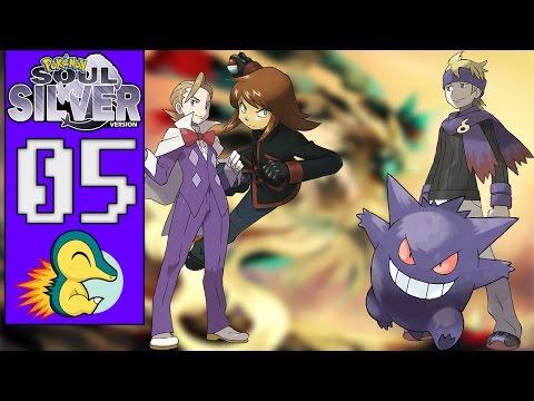 Pokémon Soul Silver #05 - A TORRE QUEIMADA/O GINÁSIO FANTASMA (1080p/2016)