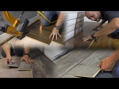 How to Install Flooring | Vinyl, Hardwood and Laminate