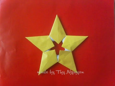 Easy Paper star | Origami | We love Origami