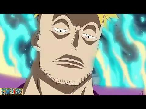 Marco The Phoenix Vs  All 3 Admirals!   One Piece Sub ENG