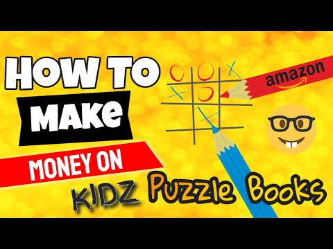 How To Make Money With Amazon in 2020 | KIDZ PuzzleBooks | Kindle Publishing Opportunity for Anyone thumbnail