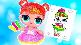 3 МАРКЕРА ЧЕЛЛЕНДЖ c LOL SURPRISE! Мультик #ЛОЛ СЮРПРИЗ Школа Куклы Игрушки Для девочек