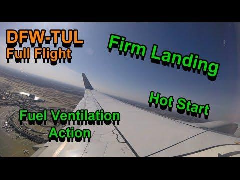 *Full Flight* American Airlines 737-800 DFW-TUL
