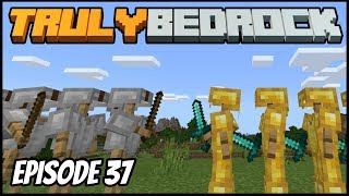 Prank War Shenanigans And Micro Farms! - Truly Bedrock (Minecraft Survival Let's Play) Episode 37