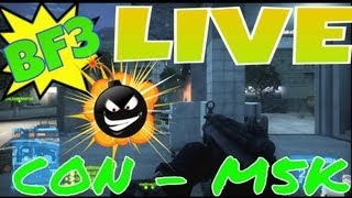 BF3 - Consola O Pc - M5K Gameplay Live!!