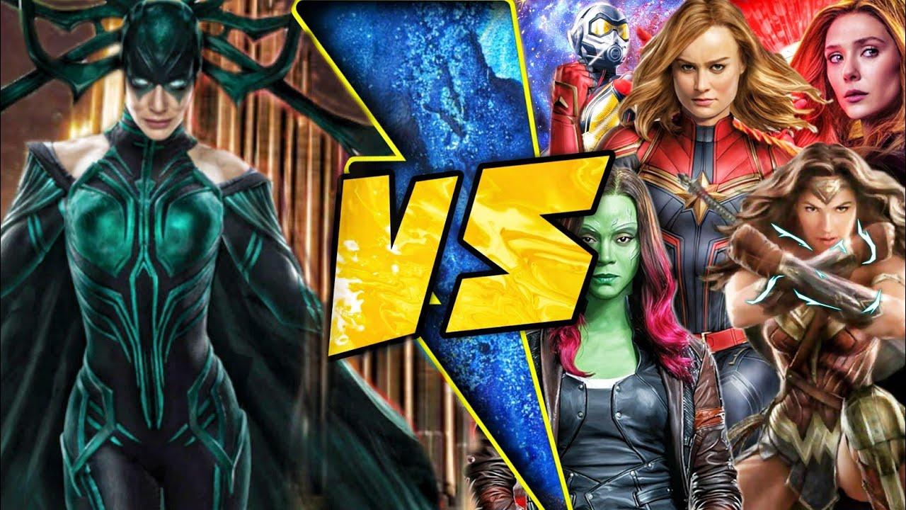 Hela vs Female Superheroes Explained in Hindi (SUPERBATTLE)