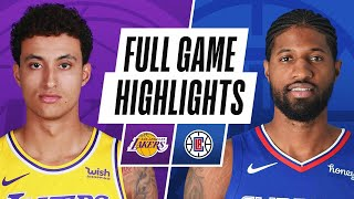 GAME RECAP: Clippers 118, Lakers 94