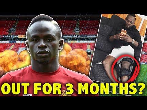Sadio Mane Set To Face 3 Months Out Injured! | #The12thMan
