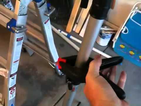 DIY Bike Workstand - $0 cost - YouTube