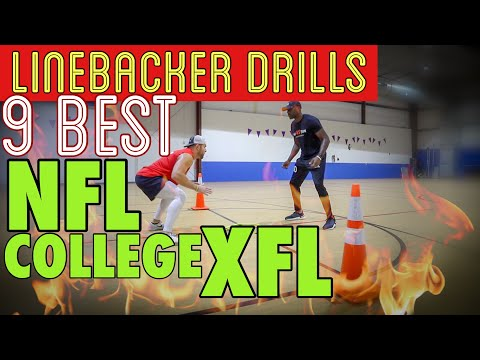 9 Best Linebacker Drills For College And NFL Football (Coach Lyonel Anderson)