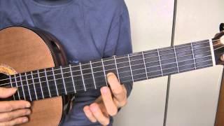 Tuto guitare - Françoise HARDY : Mon amie la rose (1/2) démo + grille sans rythmique