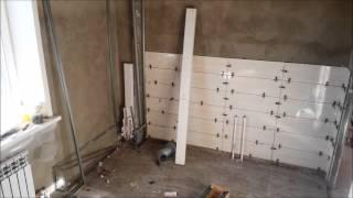 Простой ремонт ванной комнаты с СВП ч.5
