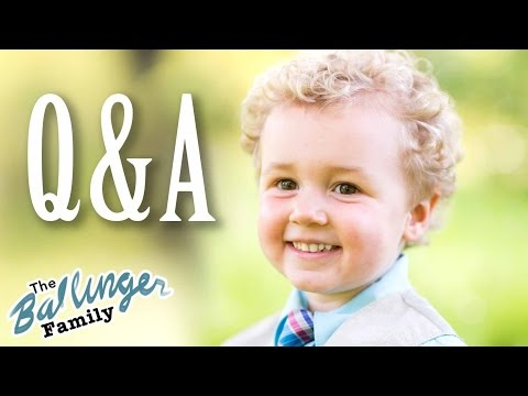 Interview with a 3-Year-Old - Parker Answers Twitter Questions w/ His Father