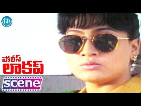 Police Lockup Movie - Vijayashanti Nice Introdcution Scene