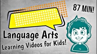 Language Arts Learning Videos for Kids | Nouns, Verbs and More!
