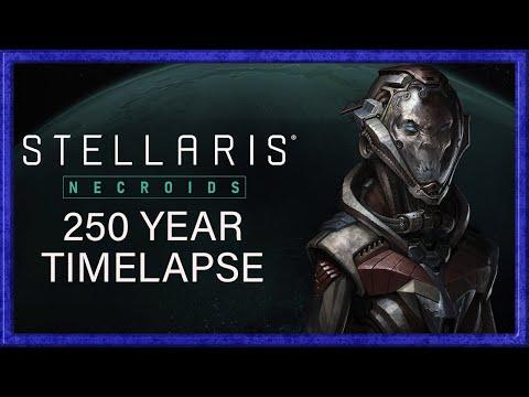 Stellaris Necroids 250 year Timelapse (Patch 2.8) |