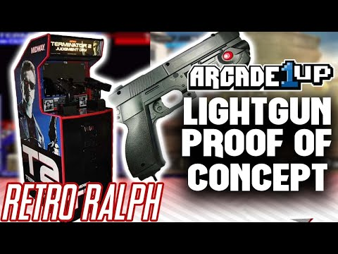 Arcade1up Light Gun MOD - mame light gun games !! - PakVim