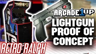 Arcade1up Light Gun MOD - mame light gun games !!