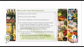 Danfoss Learning - CO2 Module 3b - Food Retail Refrigeration system - eLesson preview | Danfoss cool