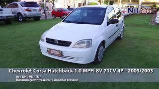 Chevrolet Corsa Hatchback 1.0 MPFI 8V 71CV 4P - 2003/2003
