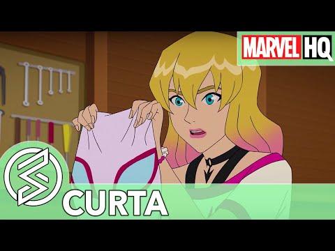 Bateria e Teias de Aranha  | Marvel Rising Initiaton #2