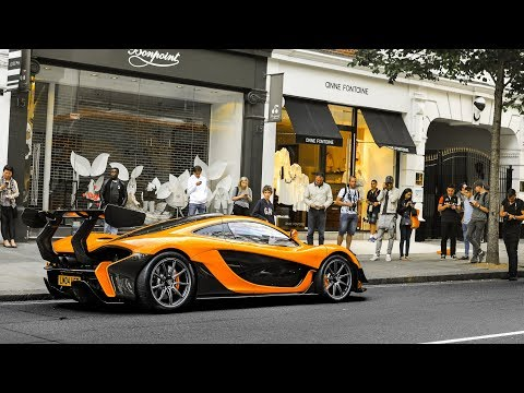 Mclaren P1 LM Driving on the Streets of London!