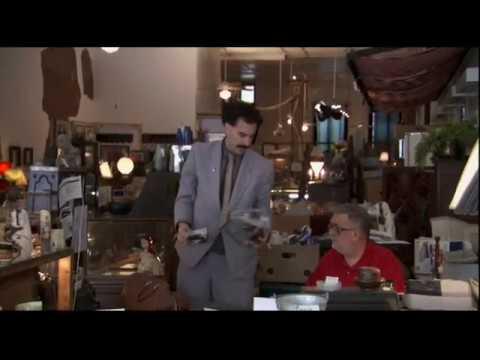 Borat (2006) Antique shop scene