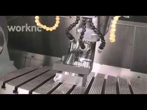 WorkNC En Action | Logiciel CAO-FAO