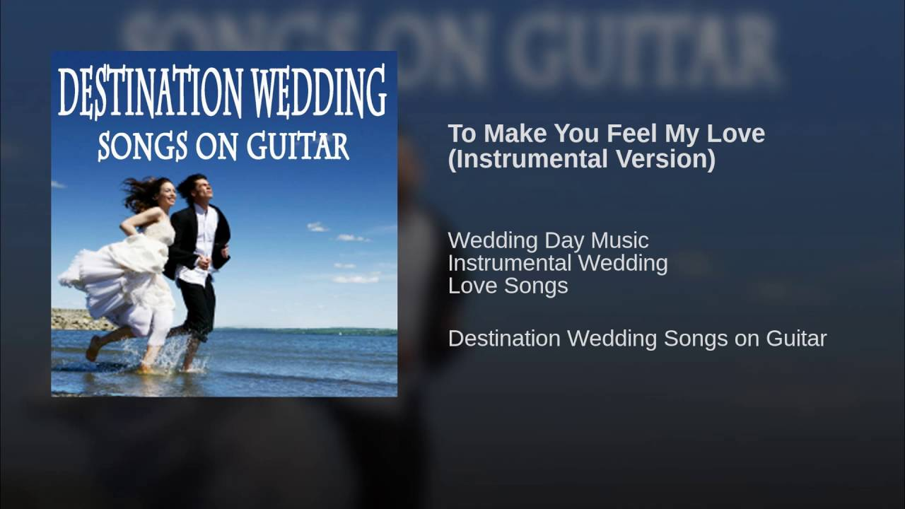 To Make You Feel My Love Instrumental Version