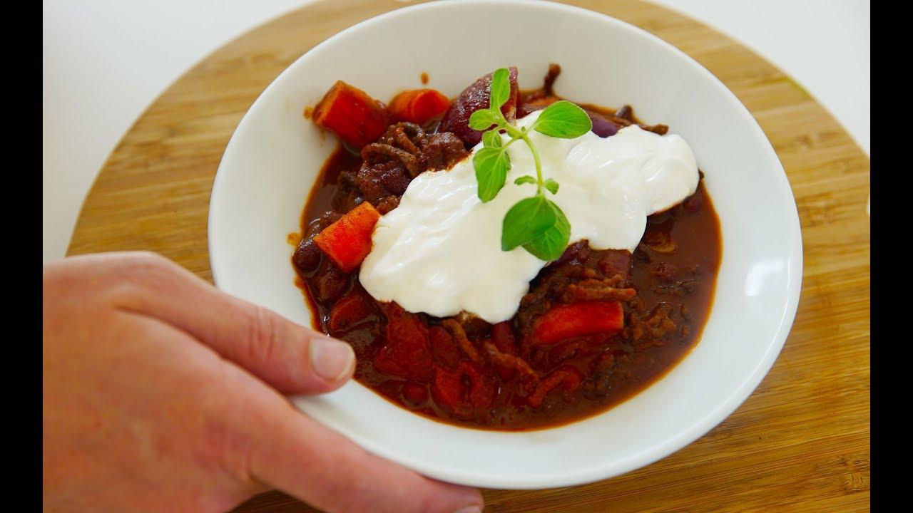 den bedste chili con carne